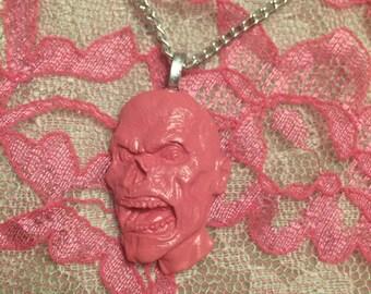 Creepy cute zombie necklace