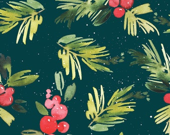 Holiday Leaves Photo Backdrop *NEW