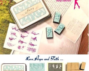 "1 box ""Fairy Stamp"""