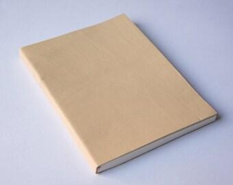 Beige Leather Journal