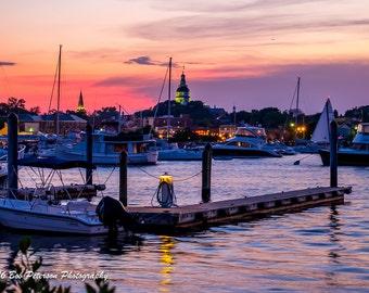 Annapolis Sunset I
