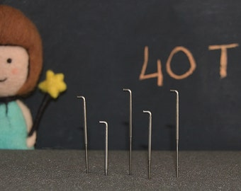 40T felting needle (5 pieces)