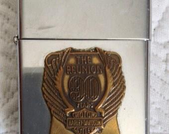 Collector Harley Davidson Zippo lighter.