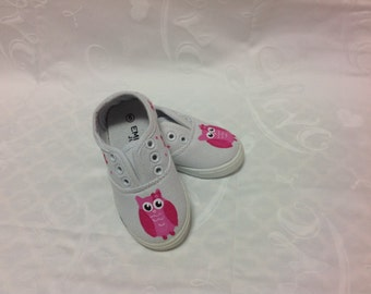 Owl girls shoes