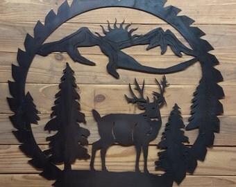 Cnc Deer Etsy