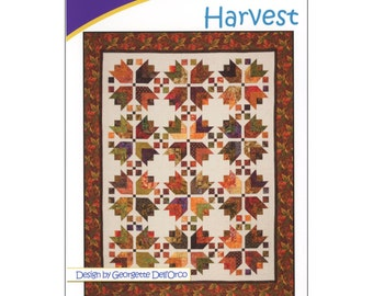 Pattern - Harvest by Cozy Quilt Designs (CQD01034) Quilt Pattern Wall Hanging Strip Club