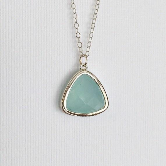 mint necklace mint pendant necklace mint by