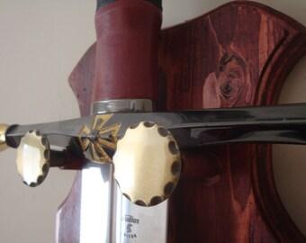 Sword Plaque Wall Hanger