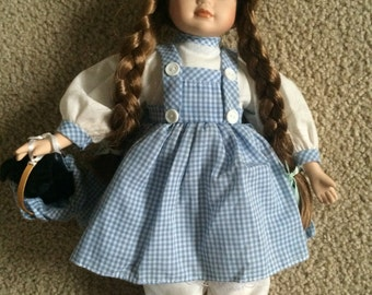 Vtg Antique Dorthy Wizard of Oz Porcelain Doll