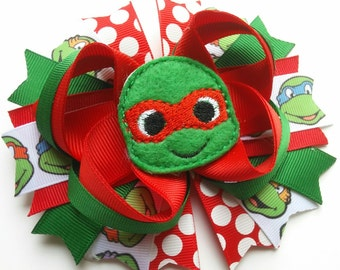 Red Turtle Bow