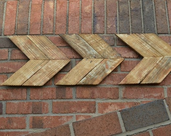 Pallet Wood Chevron Arrows Reclaimed Pallet Wood Arrows Rustic Wood Chevron Arrows