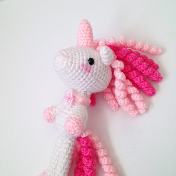 Amigurumi Unicorn Toy Crochet Unicorn Crochet Doll Mythical Creature ...