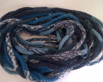 chunky yarn, knitted,bulky yarn,