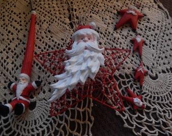Department 56 Santa Tree Ornaments