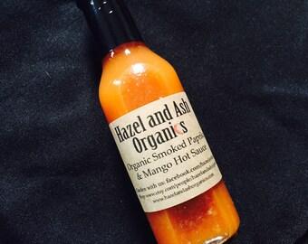 Hazel and Ash - Organic Smoked Paprika & Mango Hot Sauce