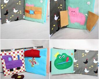 quiet book busy books easter montessori activity book quiet books toddler - Toddler Activity Book