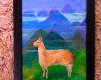 Peaceful Llama
