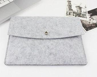 Felt Macbook Air 13 sleeve, Macbook sleeve 13, Macbook case 13, Macbook Air case, Macbook Air sleeve, Laptop sleeve, macbook case 004LG