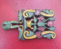 Wilton Painted Cast Iron Trivet