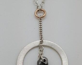 Meteorite Necklace | galaxy jewelry gift - meteorite jewelry - galaxy necklace - science jewelry - science y necklaces - space necklace