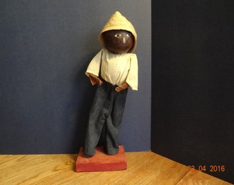 Folk Art Haitian Doll