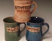 Personalized Name Mugs