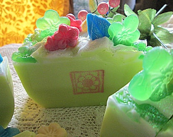 Lemon Verbena And Coriander Citrus Bars~Artisan Soap~Gifts For Her~Citrus Scented Soap~Bath And Beauty~Bars Soap~Handcrafted Soaps~Verbena