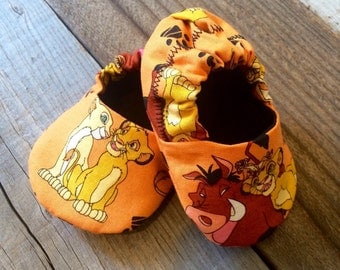 lion king baby booties, lion king baby shoes