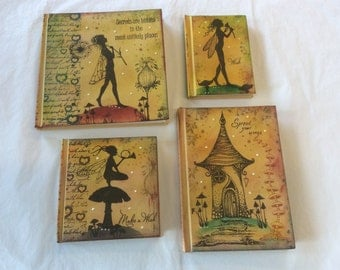 Magical fairy notebooks - multi pkt