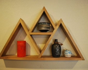 Triangle Floating Wall Shelf - Style 1