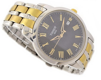 Vintage Tissot 1853 T033410A Quartz Stainless Steel Two Tone Mens Watch 1252 -  Make me an offer!