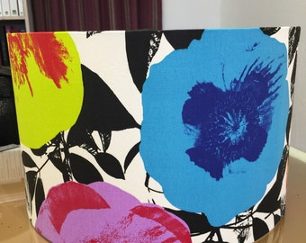 Large Pop Art Flower Ceiling Lampshade 45cm