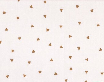 Boppy Cover - Gold Triangles