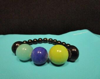 Big Round Beaded Bracelet