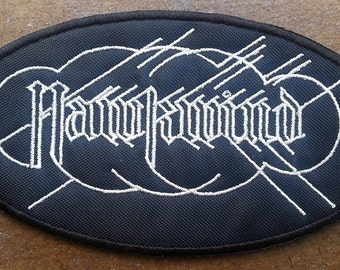 "Hawkwind embroidered patch ""Hall of the mountain Grill"" Motorhead Lemmy"