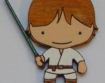 Personalized Star Wars Luke Skywalker Christmas Ornament