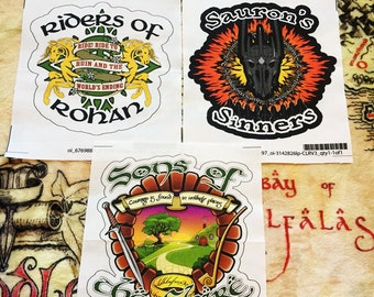 Lord of the Rings Biker Patch