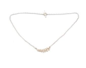 Intricate Leaf Necklace