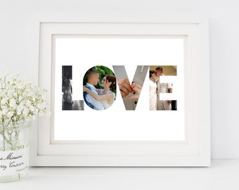 Engagement Gift Idea, Engagement gift for fiance, Custom engagement, personalised engagement gift,  photography engagement gift, photo print