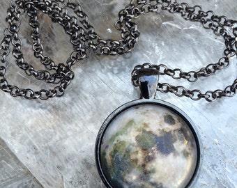 Full Moon Pendant or Key Chain