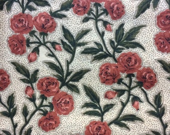 Fabric by the 1/4 Yard - Roses Cotton