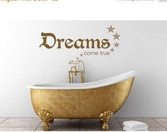 20% SALE - FREE SHIPPING Custom quote wall decal (see description)