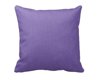 Purple Throw Pillow Cover Solid Purple Pillow Cover Decorative Pillows for Couch Accent Pillows 20x20 Pillows 18x18 Pillows Modern Pillows
