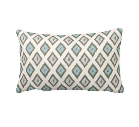 7 Sizes Available: Decorative Pillow Covers Throw Pillow Ikat