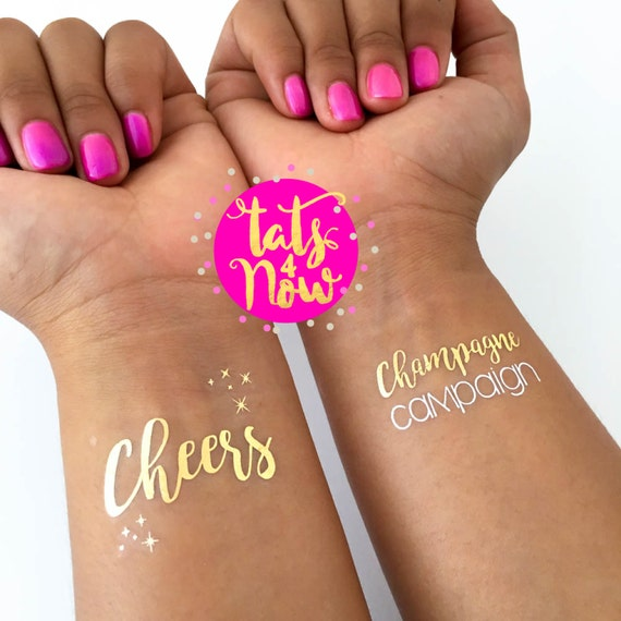Cheers & Champagne campaign set of 16