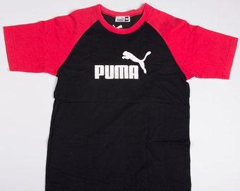 Vintage Puma 90s Logo Tshirt