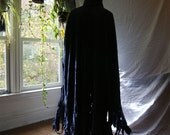 The Wicked Cape a Long Black Cape with Hood - made to order
