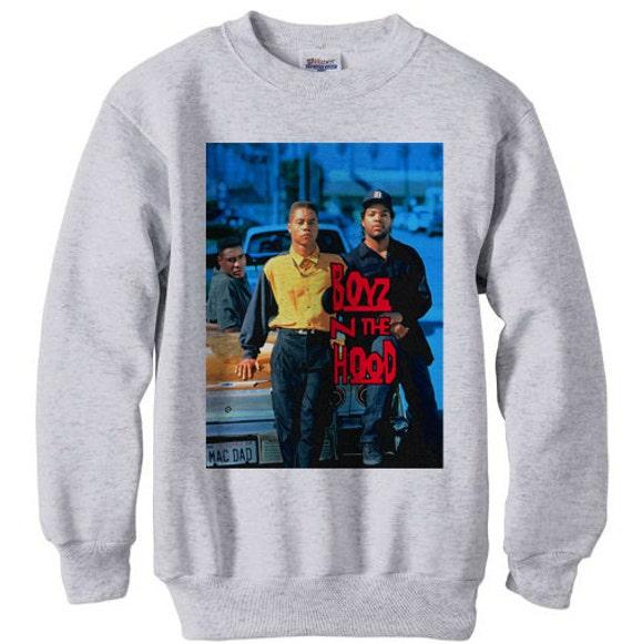 Boyz N The Hood Fleece Sweatshirt Sweater Nwa Ice Cube