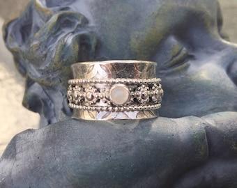 Meditation Ring Spinner Ring