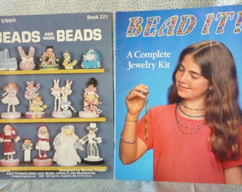 Lot of Two Booklets for Beading Projects